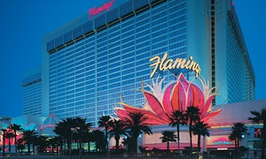 Stay with Dining Credit on the Vegas Strip at Flamingo Las Vegas, plus 9.0% Cash Back from Ebates.