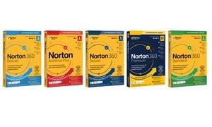 Logiciels de protection Norton, plusieurs versions disponibles