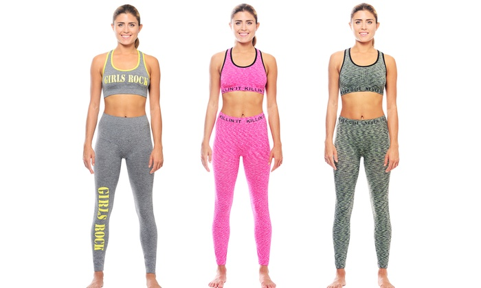 Women's Active Wear (3-Pack). Multiple Styles Available.