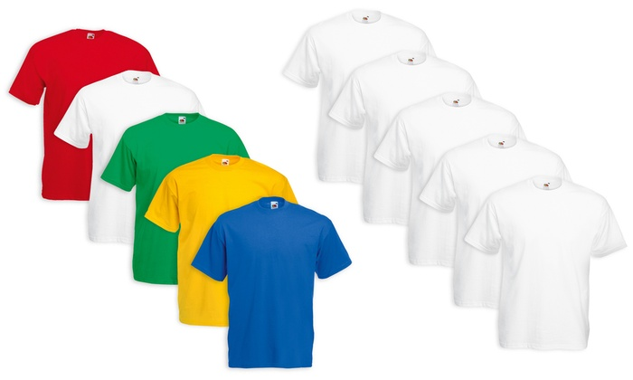 5 T-shirt Fruit of The Loom