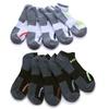 Head Men's No-Show Moisture-Wicking Socks (10 Pairs)