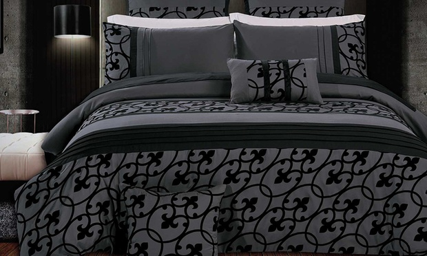 Three Piece Quilt Cover Set in Choice Design: Queen ($49), King ($59) or Super King ($69) (Dont Pay up to $199.09)