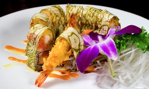 Midori Sushi: Sushi and Japanese Food for Two or More at Midori Sushi (Up to 52% Off). Two Options Available.