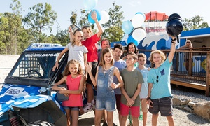 Wet'n'Wild Buggy: Buggy Birthday Party Package for 10 Children w/ Three ($279) or Four Laps ($279) at Wet'n'Wild Buggy (Up to $490 Value)