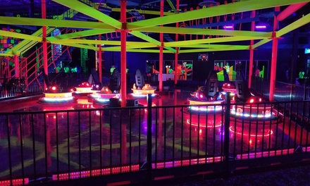 One- or Two-Hour Max Pass at Glowzone (Up to 40% Off) (Up to 40% Off)