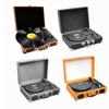 Pyle Audio Portable Turntable with Rechargeable Battery