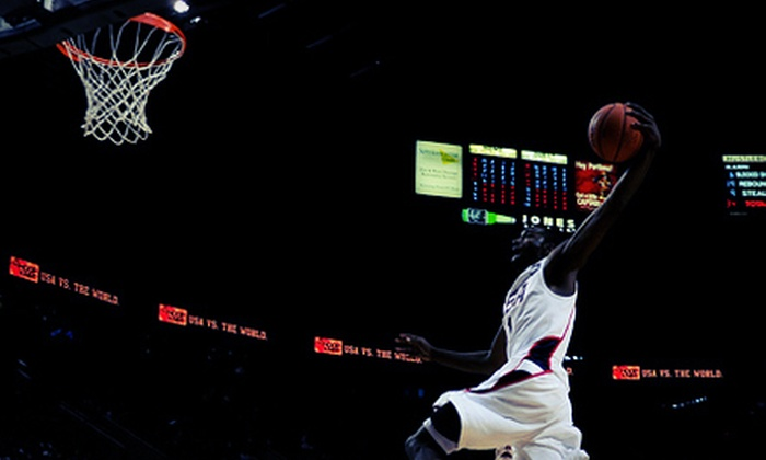 Nike Hoop Summit - Moda Center: $14 for One Ticket to the Nike Hoop Summit Basketball Game at the Rose Garden on April 20 ($35.50 Value)