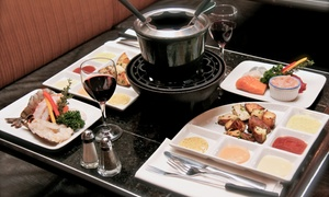 La Fonderie Laval: C$32 for a 3-Course Chinese Fondue Meal for Two at Restaurant La Fonderie in Laval (C$64 Value)