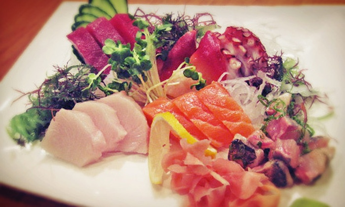 The Sushi Bar - Northwest Oklahoma City: $20 for $40 Worth of Sushi, Noodle Dishes, and Grilled Seafood at The Sushi Bar