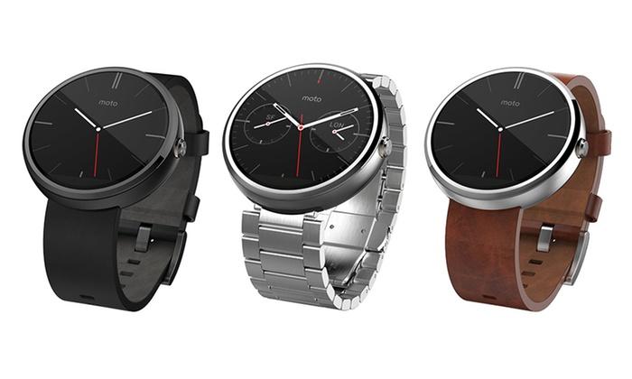 motorola smartwatch. motorola moto 360 smartwatch: smartwatch (refurbished)