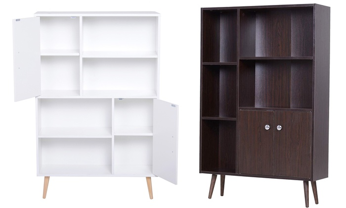 Homcom Open Bookcase