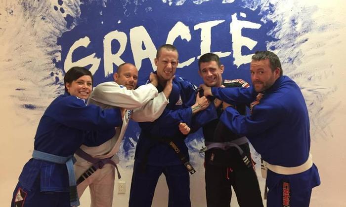 Gracie Tampa West - Palm Harbor: Four Weeks of Unlimited Brazilian Jiu-Jitsu Classes at Gracie Palm Harbor (50% Off)