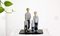 Fotorealistische 3D-Figur der eigenen Person in verschiedenen Größen bei 3DyourBody (bis zu 50% sparen*)