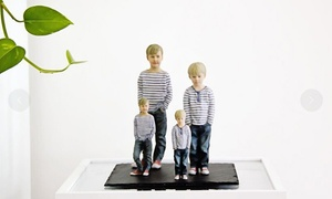 3DyourBody: 3D-Miniatur-Figur der eigenen Person erstellen lassen bei 3DyourBody (50% sparen*)