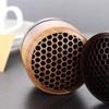 Classy Bamboo Mini Wireless Bluetooth Speaker with LED Light