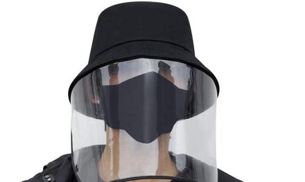1 o 2 sombreros unisex de protección facial completa