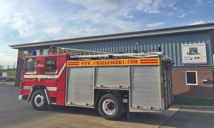 Fire Engine Passenger or Driver Exprience for One or Two at Challenger (Up to 62% Off)