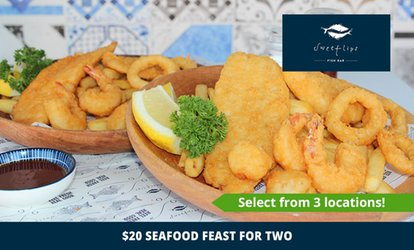 $20 for Seafood Feast for Two People at Award-Winning Sweetlips, Three Locations (Up to $43.70 Value)
