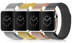 Waloo Milanese Loop Apple Watch Band: Waloo Milanese Loop Stainless Steel Apple Watch Band