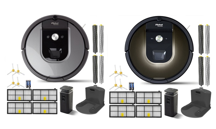 למעלה iRobot Roomba 960 or 980 App-Controlled Robotic Vacuum VW-38