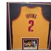 Irving Professionally Framed Signed Jersey PSA Certified