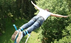 Adrenaline elastic: Saut à l'élastique avec certificat et CD photos pour 1 ou 2 personnes dès 45 € avec Adrenaline Elastique