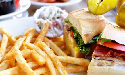 Burgers and Beers for Two or Four at Maryland Yards (43% Off)