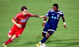 Carolina Railhawks: Carolina RailHawks Soccer Match at WakeMed Soccer Park On May 16 or August 22 (Up to 51% Off)