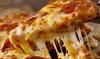 Teglia di pizza d'asporto