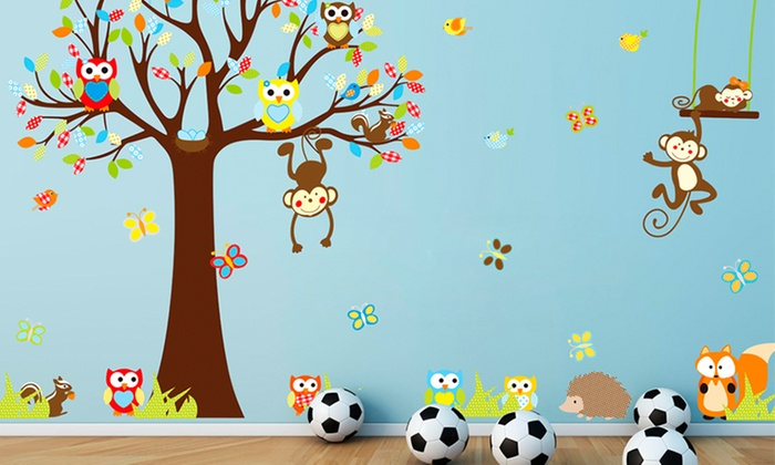 Kidsu0027 Wall Mural Stickers: Kidsu0027 Wall Mural ...