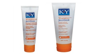 K-Y Warming Jelly Lubricant (2.5 or 5 Fl. Oz.)