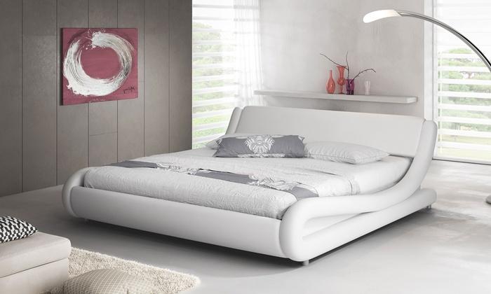 Estructura de cama con o sin colchón | Groupon Goods