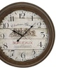 Urban Designs Weathered Vintage Wall Clock