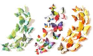 Double Wing Butterfly Wall Art