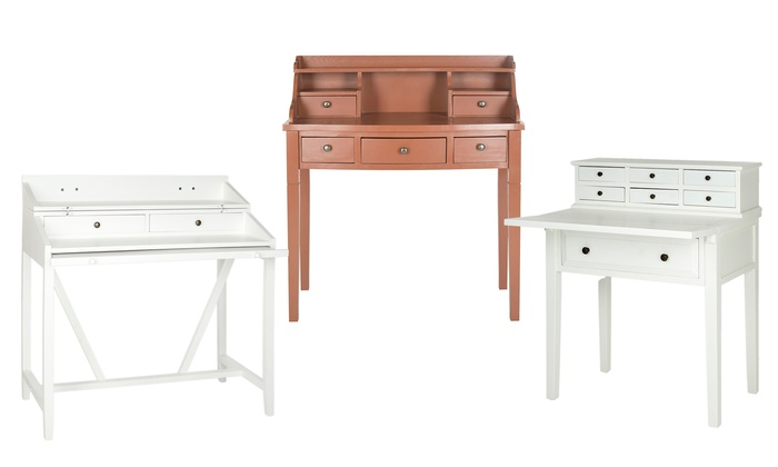 Safavieh Wooden Writing Desk: Safavieh Wooden Writing Desk