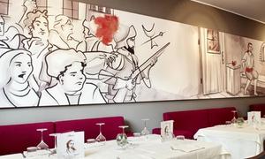 Masaniello é Turnat: Masaniello È Turnàt - Menu di pesce con 4 portate e vino a San Salvario (sconto fino a 65%)