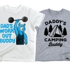 Toddler Boys' Dad and Me Tees