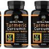 Ultra Pure Turmeric Curcumin 95% Dietary Supplement (1-, 2-, or 3-Pk.)