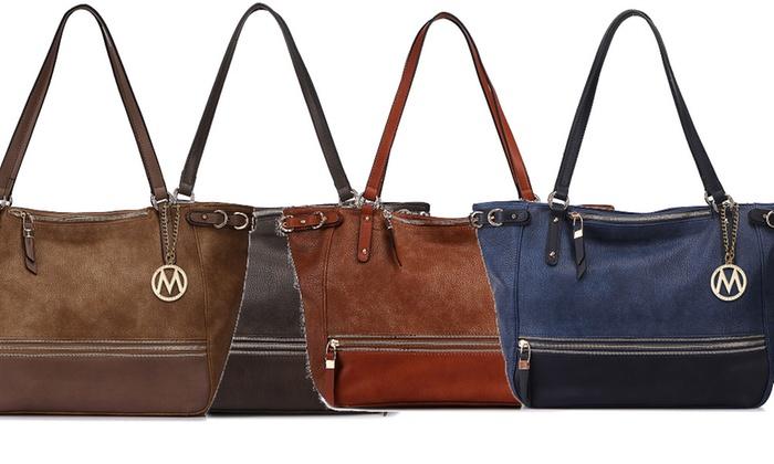 MKF Collection Madyson and Martina Embellished Handbags