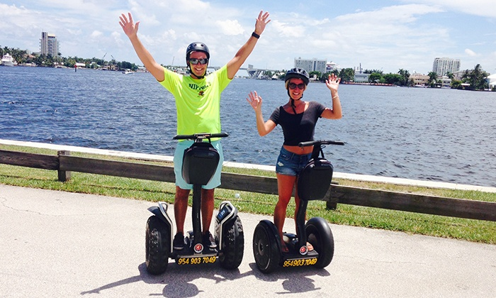 Segway Fort Lauderdale - Segway Fort Lauderdale: 60-Minute Segway Tour for One or Two from Segway Fort Lauderdale (Up to 45% Off)