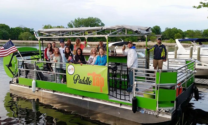 PaddleTap - Multiple Locations: Two-Hour White Bear Lake Tour for Up to 11 or Lake Minnetonka Tour for Up to 14 from PaddleTap (Up to 33% Off)