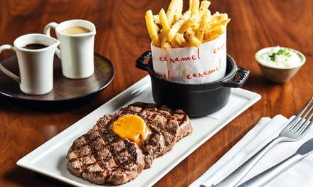 Brunch with Drinks for Up to 12 at Caramel Restaurant and Lounge at The Collection  (20% Off)