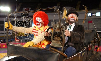 <strong>Circus</strong> for Two Adults and Two Children on July 2 at 4:30 p.m