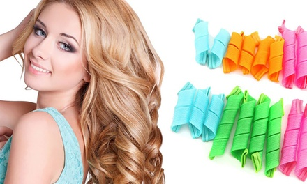18Piece Easy Curl Natural Curler Set: One Set $10.95 or Two Sets $15.95