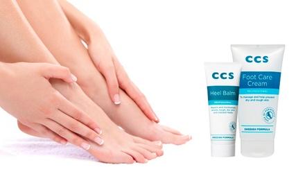 CCS Heel Balm 75g, Foot Care Cream 175ml or Both
