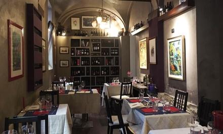 Menu di 4 portate e vino, Bologna centro
