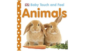 Baby Touch and Feel: Animals Book for Kids