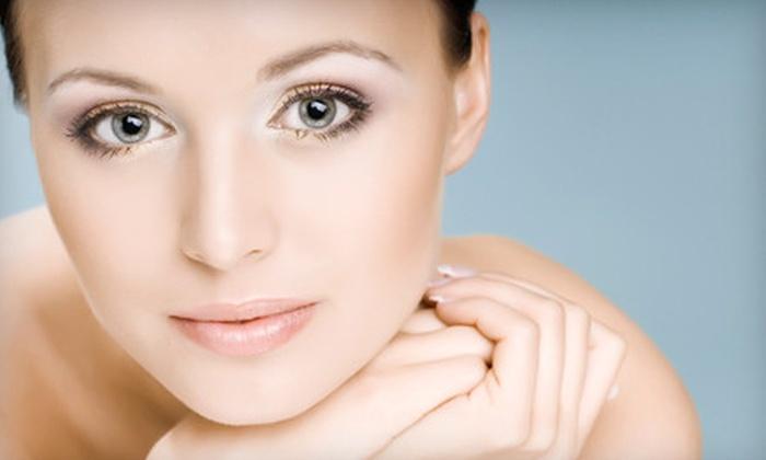 Caryl Baker Visage - Multiple Locations: $125 for a Microdermabrasion, Photo-Rejuvenation Facial, Q10 Mask, and Makeup at Caryl Baker Visage ($315 Value)
