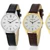 Steeltime Ladies' Genuine Leather-Strap Dress Watch