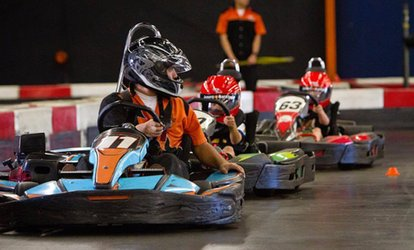 image for Time Attack Race for One, Two, or Four at LeMans Karting (Up to 49% Off)